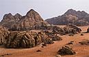 wadi rum, jordānija
