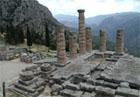 Apollona templis, Delfi